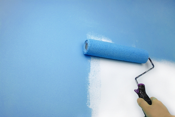 Hesperia Elephant Skin Wall Finishing | Landry's Painting CA